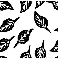 Seamless botanic pattern vector