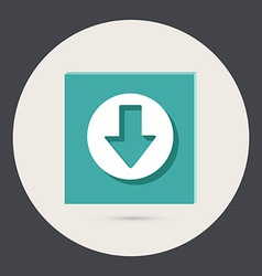 web arrow vector image