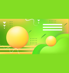 web template with blank bars dynamical colorful vector image