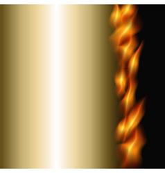 burning background vector image