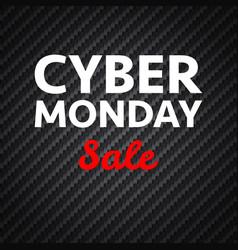 Cyber monday sale vector