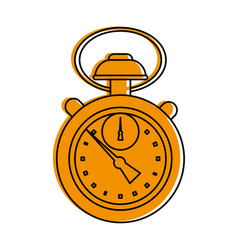 analog chronometer icon image vector image vector image