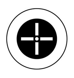 cursor control icon simple 96x96 pictogram vector image vector image
