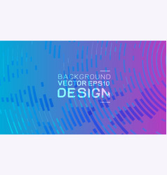abstract colorful background with halftone vector image