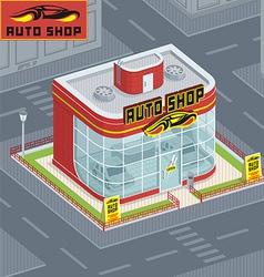 Auto shop vector