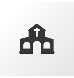 Church icon symbol premium quality isolated vector