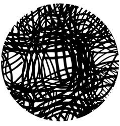 Doodle circle 5 vector