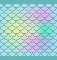 Fish scales seamless pattern fish skin endless vector