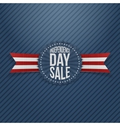 Independence Day Sale textile Tag vector image