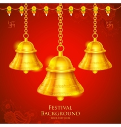 Temple bell vector