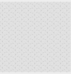 Twisted striped lines seamless pattern vector