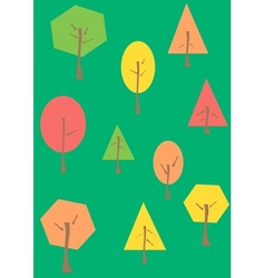 The Trees vector image vector image