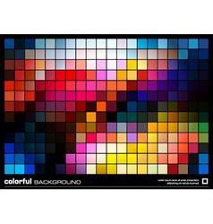 Mosaic wallpaper vector image vector image
