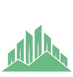 eco buildings 07 01 vector image