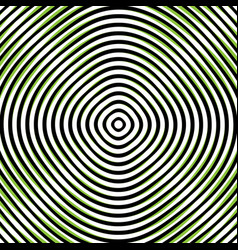 Intersecting concentric circles moire noise vector
