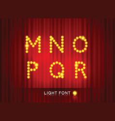 Light font2 vector