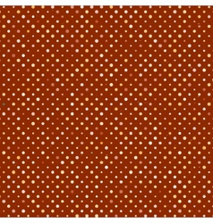 polka dot old scratch pattern retro styled vector image