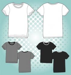 t shirt unisex vector image