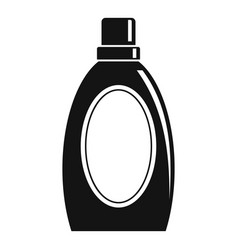 Wash clean bottle icon simple style vector