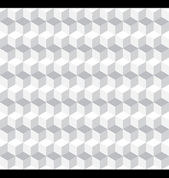 Cubic Seamless Pattern Background vector image vector image
