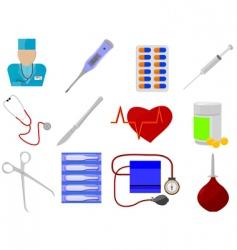 medicine and health vector image vector image