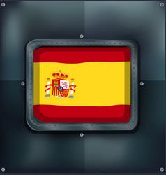 badge design for flag of brunei vector image