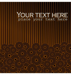 background chocolate vector image