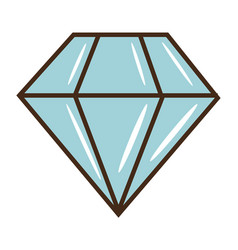 diamond vintage vector image