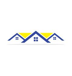 Home real estate logo vector