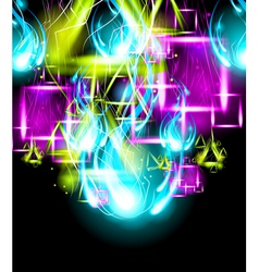 Graffiti Paint Art Background vector image vector image