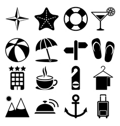 Travel Icons Vol2 vector image
