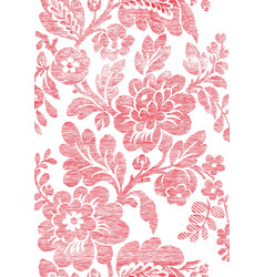 5 Abstract hand-drawn floral seamless pattern vector
