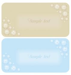 Beautiful wedding invitation or card vector
