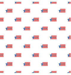 constitution day we usa people pattern seamless vector image
