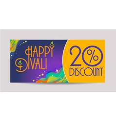 Happy Diwali labels vector