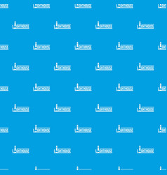 lighthouse pattern seamless blue vector image
