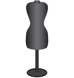 Mannequin for sewing vector