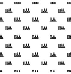 Power plant pattern vector
