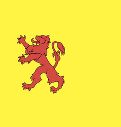 South holland flag vector