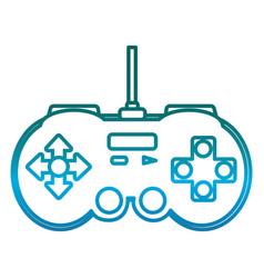 videogame controller icon vector image