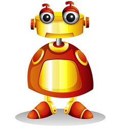 A toy robot vector image