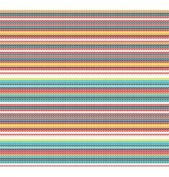 Colorful Knitted Seamless Pattern vector image