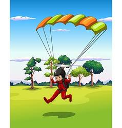 Hang gliding vector