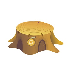icon trunk vector image