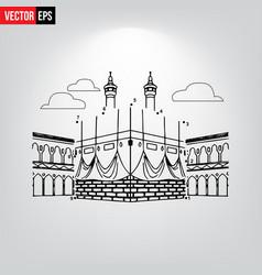 Khana e kaaba vector