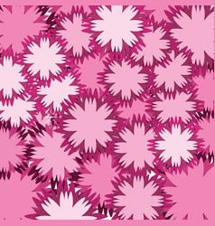 Pink flowers backgraund icon vector