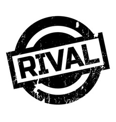 rival rubber stamp vector image