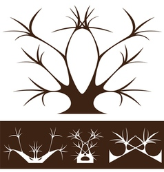 tree decor vector image