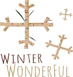 Winter Wonderful vector