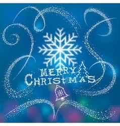 Magic Christmas Snow vector image vector image